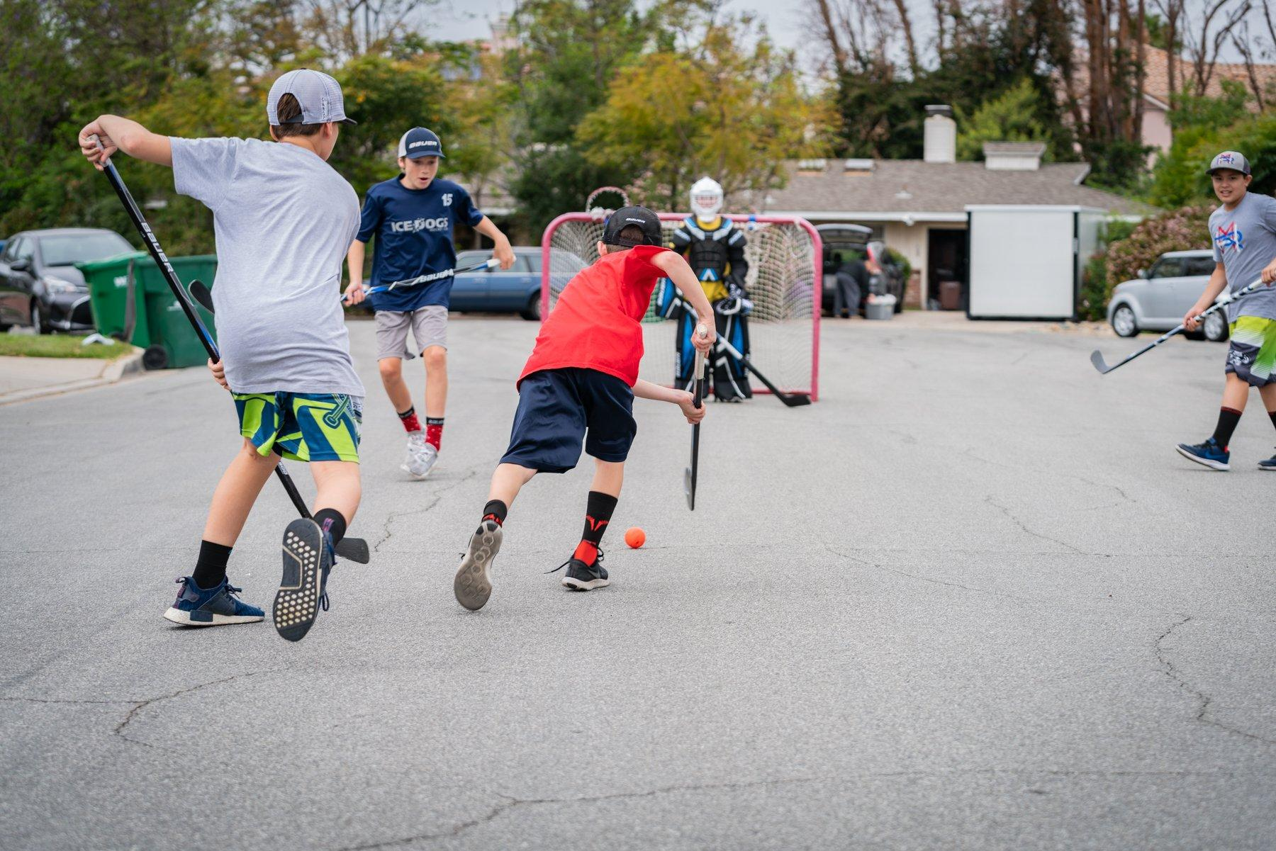 Bauer street hockey