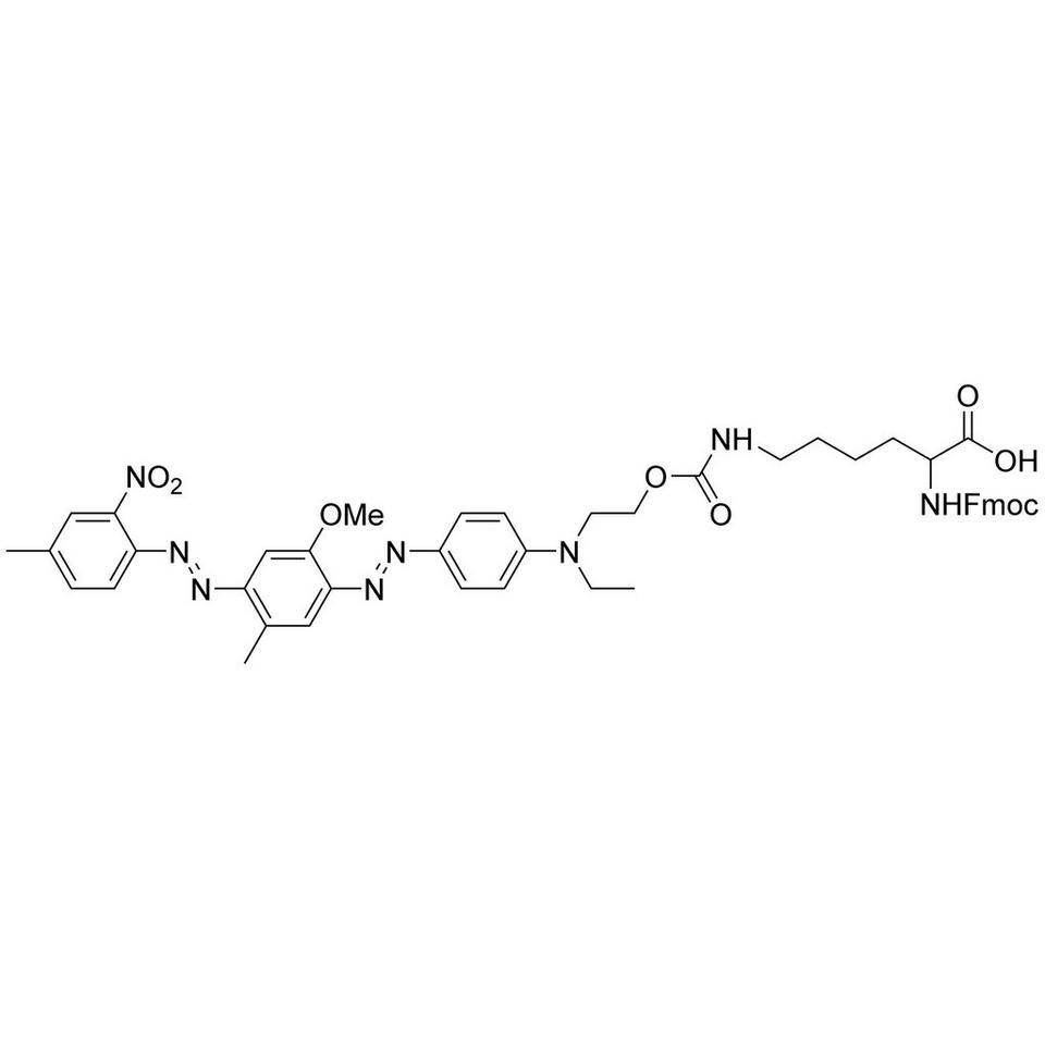 N(ε)-BHQ-1 FMOC Lys OH, 100 mg, ABI (5 mL / 20 mm Septum)