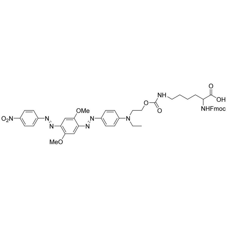 N(ε)-BHQ-2 FMOC Lys OH, 100 mg, ABI (5 mL / 20 mm Septum)