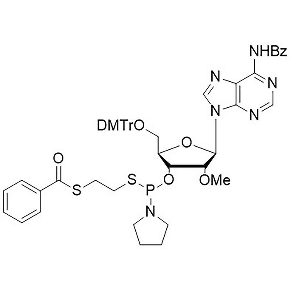 2'-OMe-A(Bz)-Thiophosphoramidite, BULK (g), HDPE Screw-Top