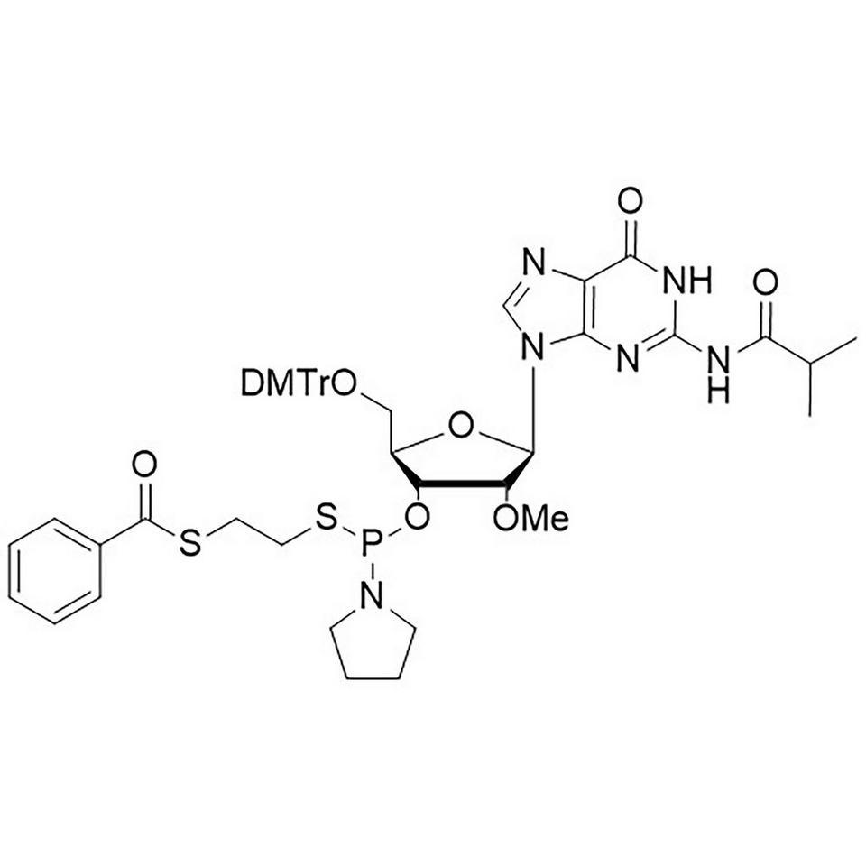 2'-OMe-G(iBu)-Thiophosphoramidite, BULK (g), HDPE Screw-Top