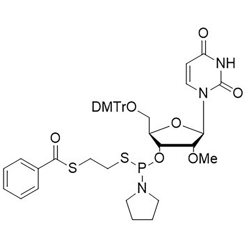 2'-OMe-U-Thiophosphoramidite, BULK (g), HDPE Screw-Top
