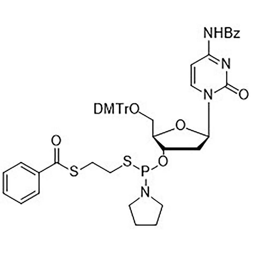 dC(Bz)-Thiophosphoramidite, BULK (g), HDPE Screw-Top