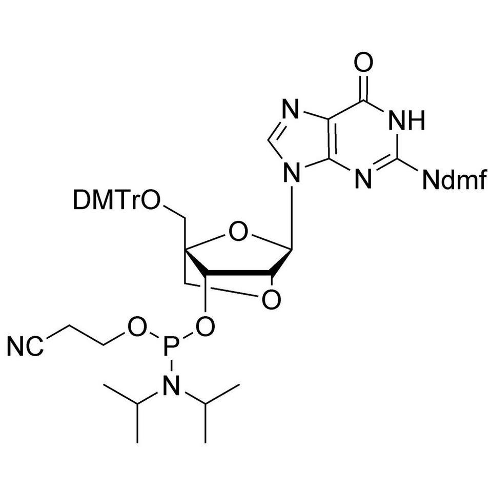 LNA-G (dmf) CE-Phosphoramidite