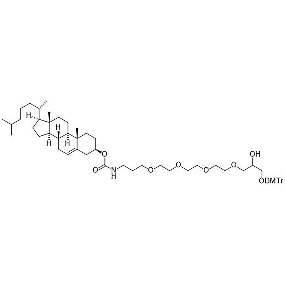 Cholesteryl N-(16-O-(Dimethoxytrityl)-15-hydroxy-4,7,10,13-tetraoxahexadecyl)-carbamate