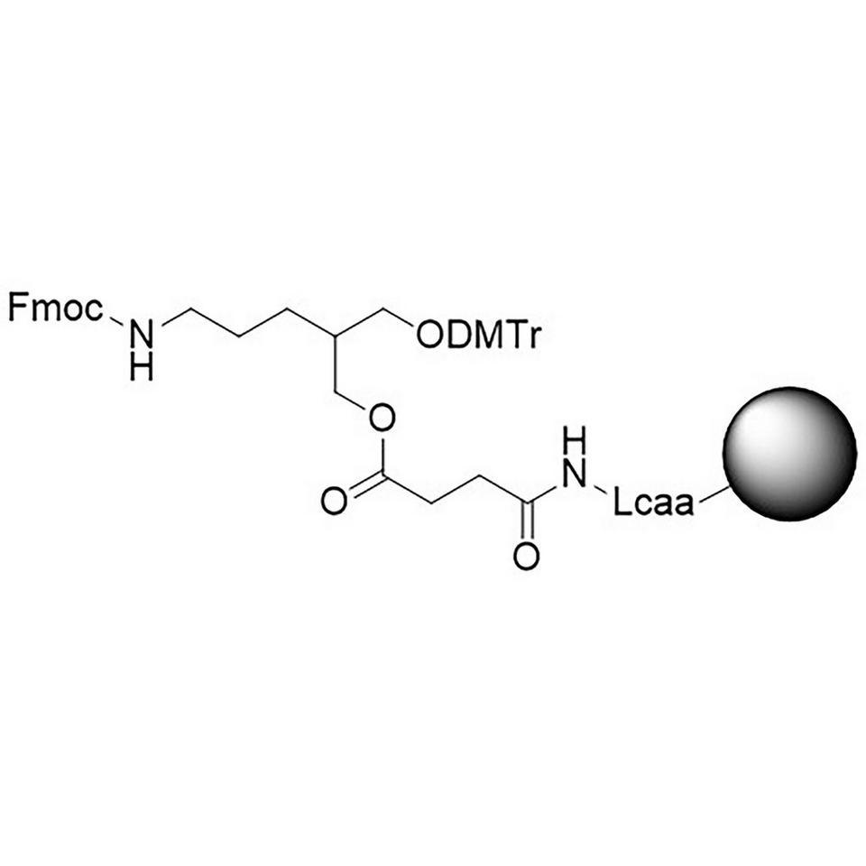3'-Fmoc-Amino-C7 CNA CPG Low Bulk Density