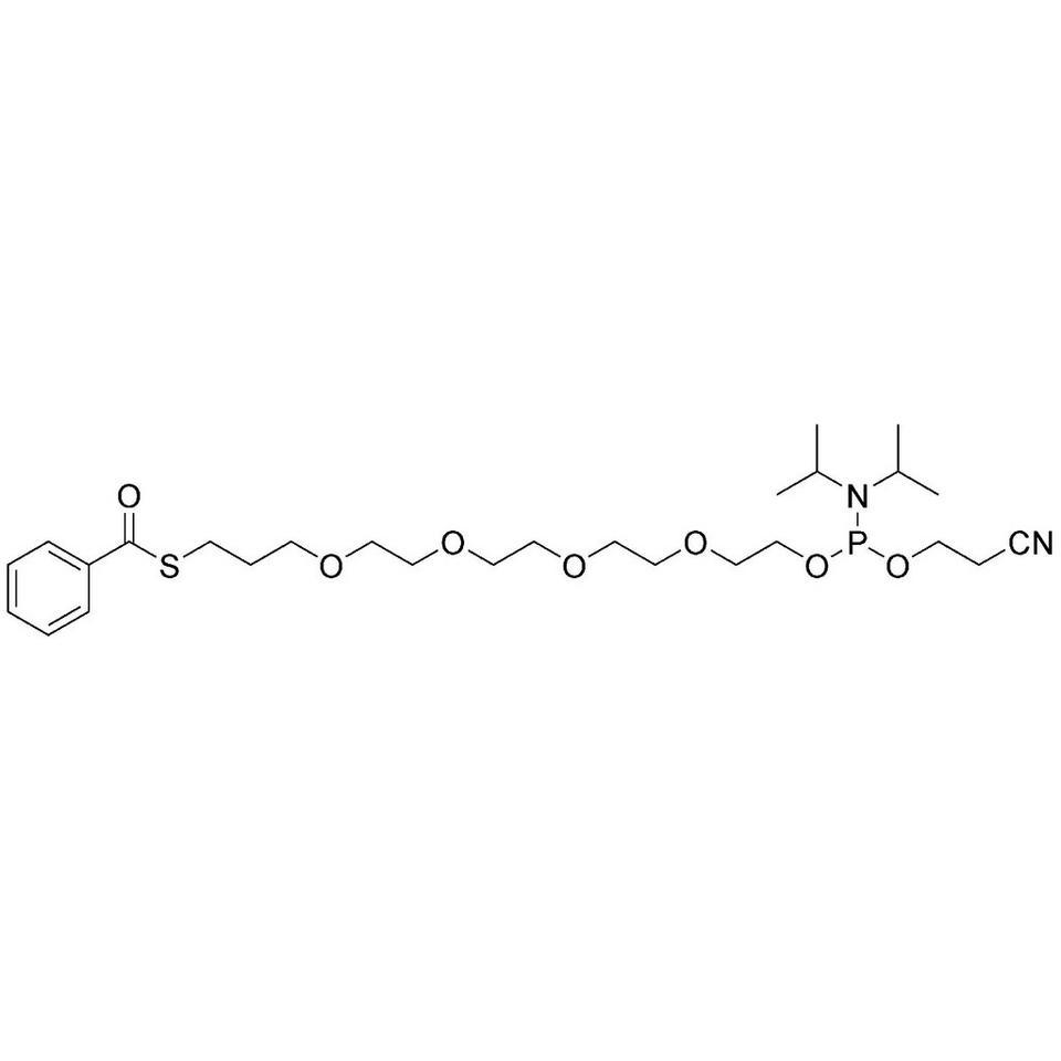 Hydrophilic Bz-S-TEG CE-Phosphoramidite