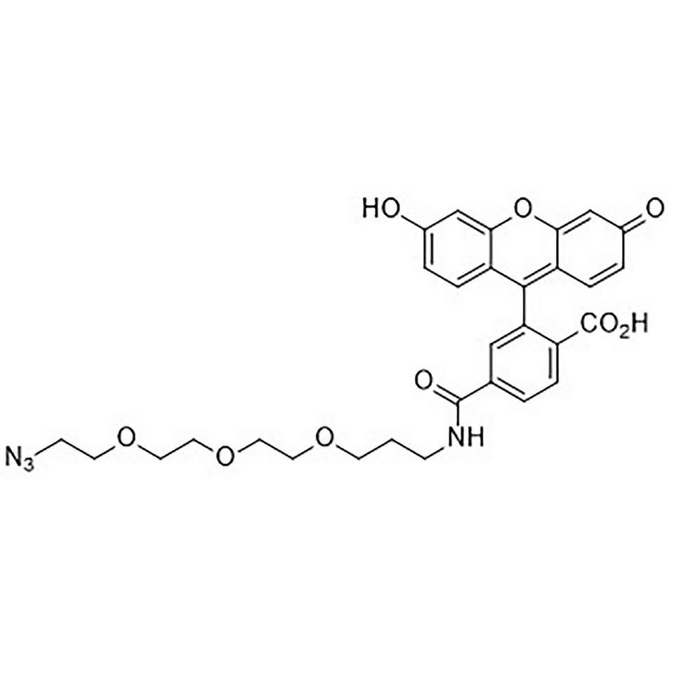 6-Carboxyfluorescein-TEG Azide