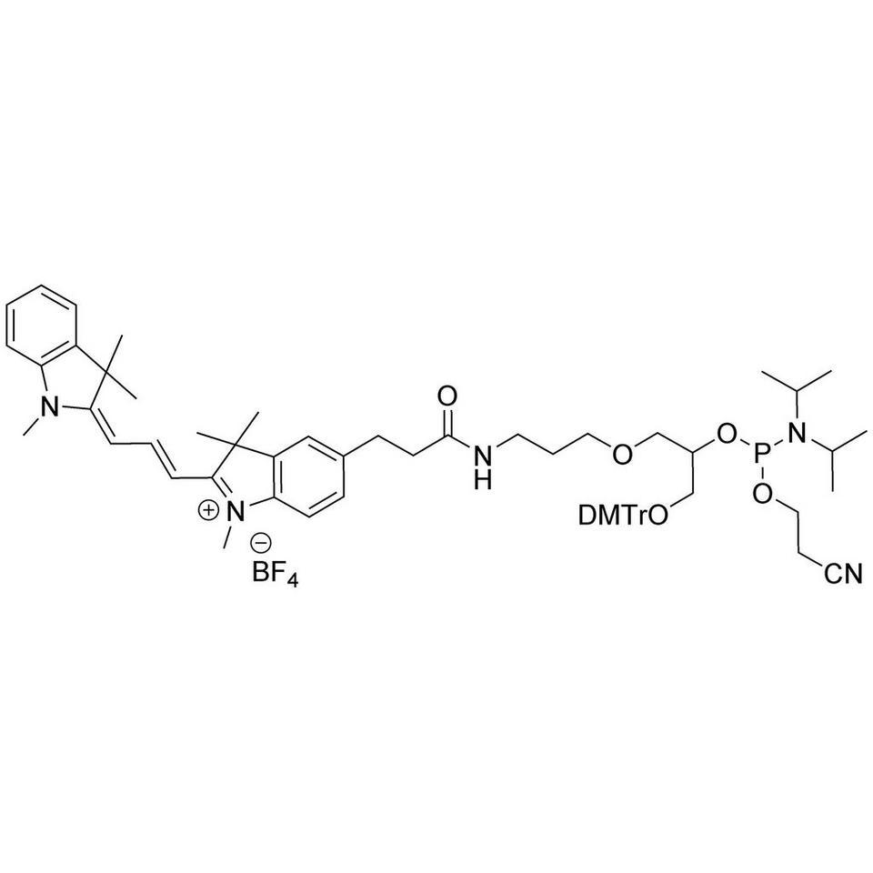 X,5'-Cyanine-3 CE-Phosphoramidite