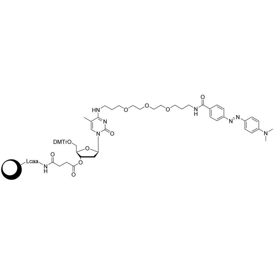 DABCYL-Suc-CPG (5'-DMT-mdC(TEG-DABCYL)-Suc-CPG)