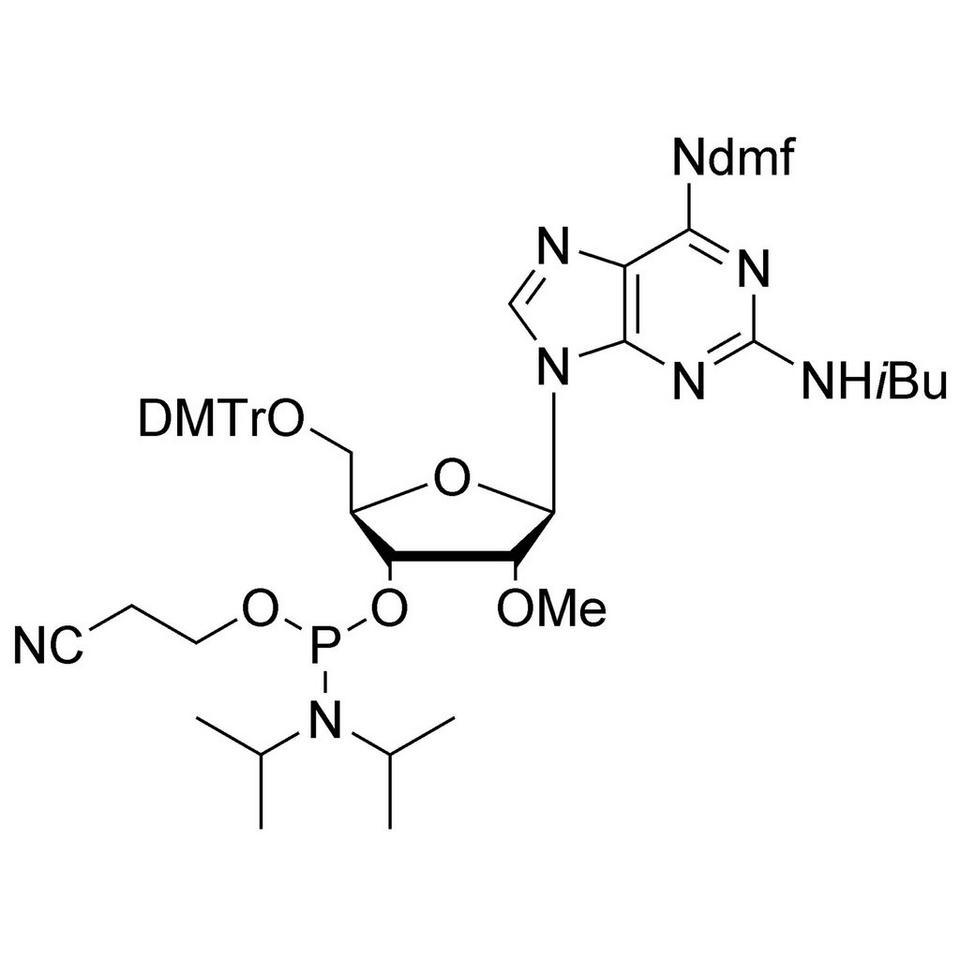 2-Amino-2'-OMe-A CE-Phosphoramidite, BULK (g), Glass Screw-Top