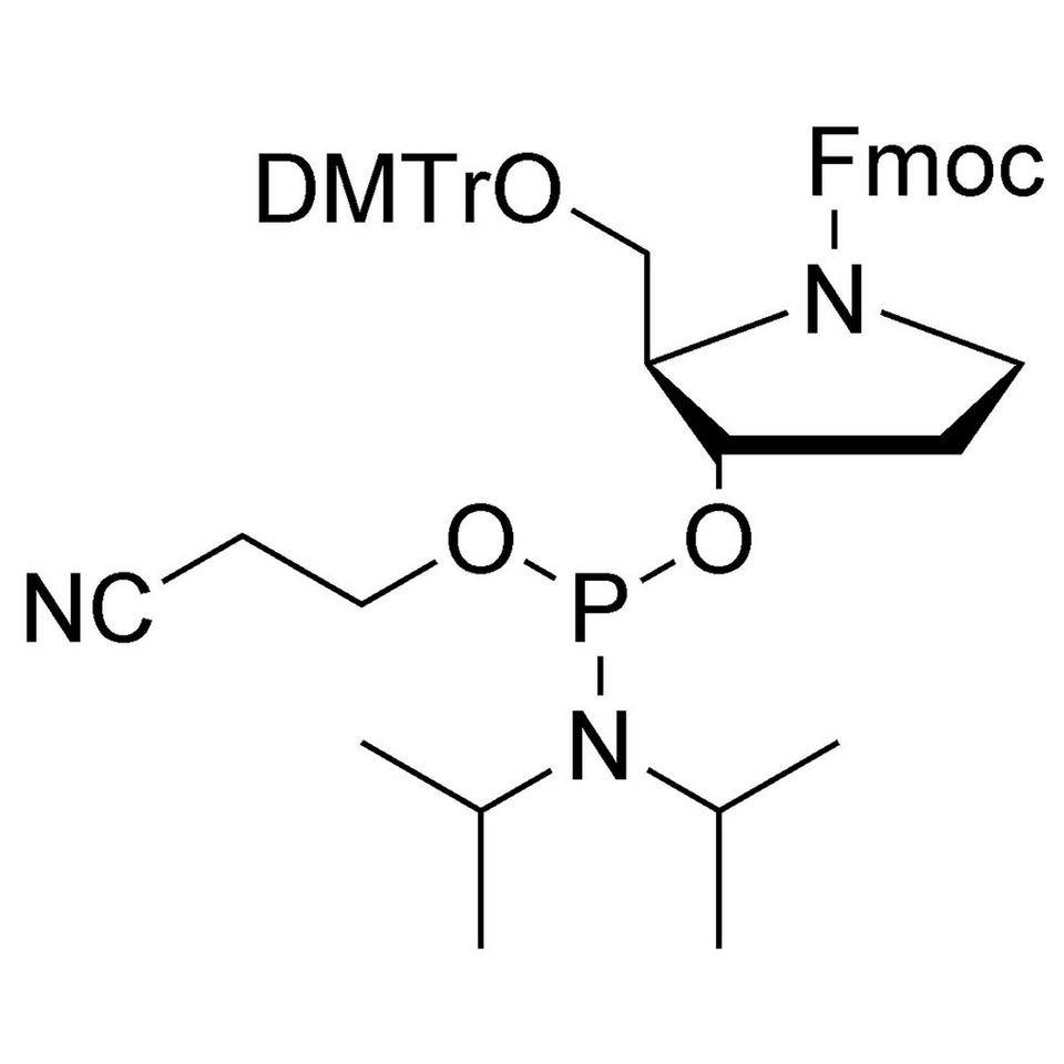 Fmoc Pyrrolidine CE-Phosphoramidite, BULK (g), Glass Screw-Top