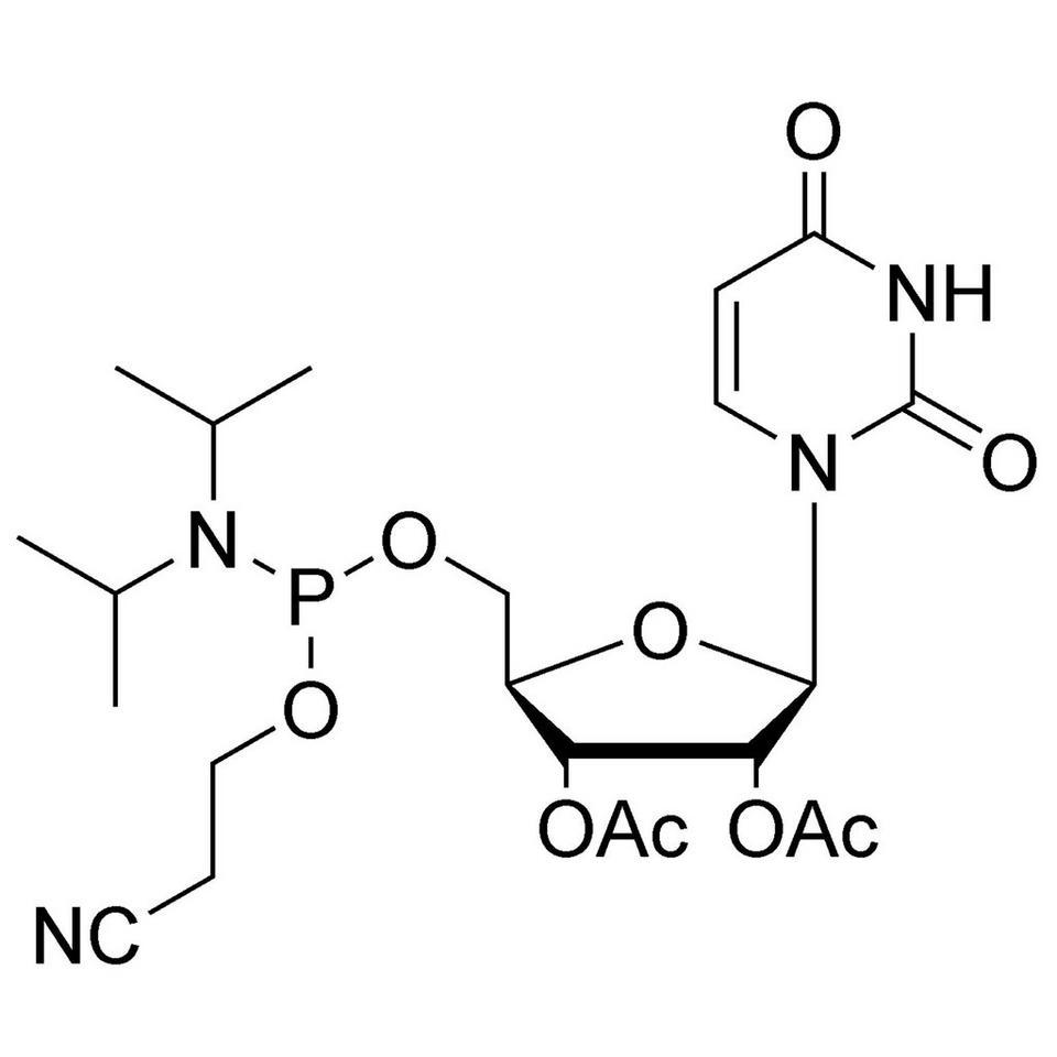 2',3'-Di-O-Acetyl-U-5'-CE-Phosphoramidite