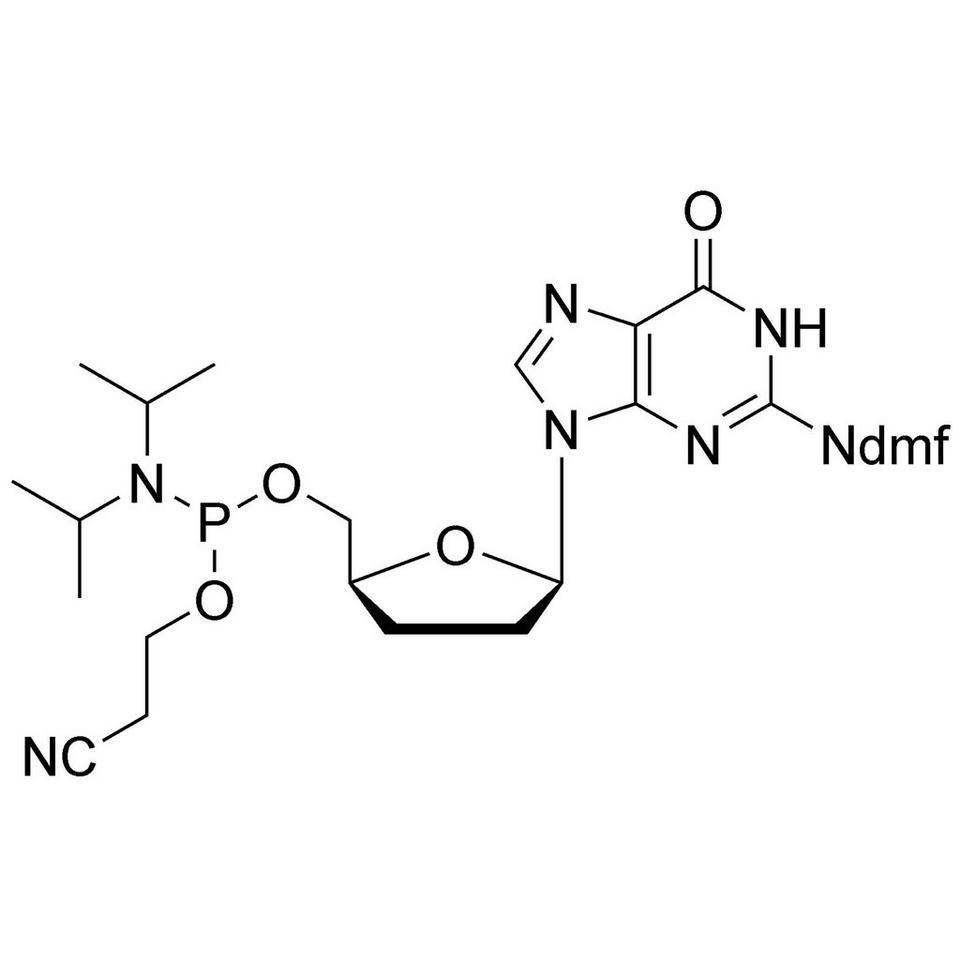 2',3'-ddG CE-Phosphoramidite, BULK (g), Glass Screw-Top