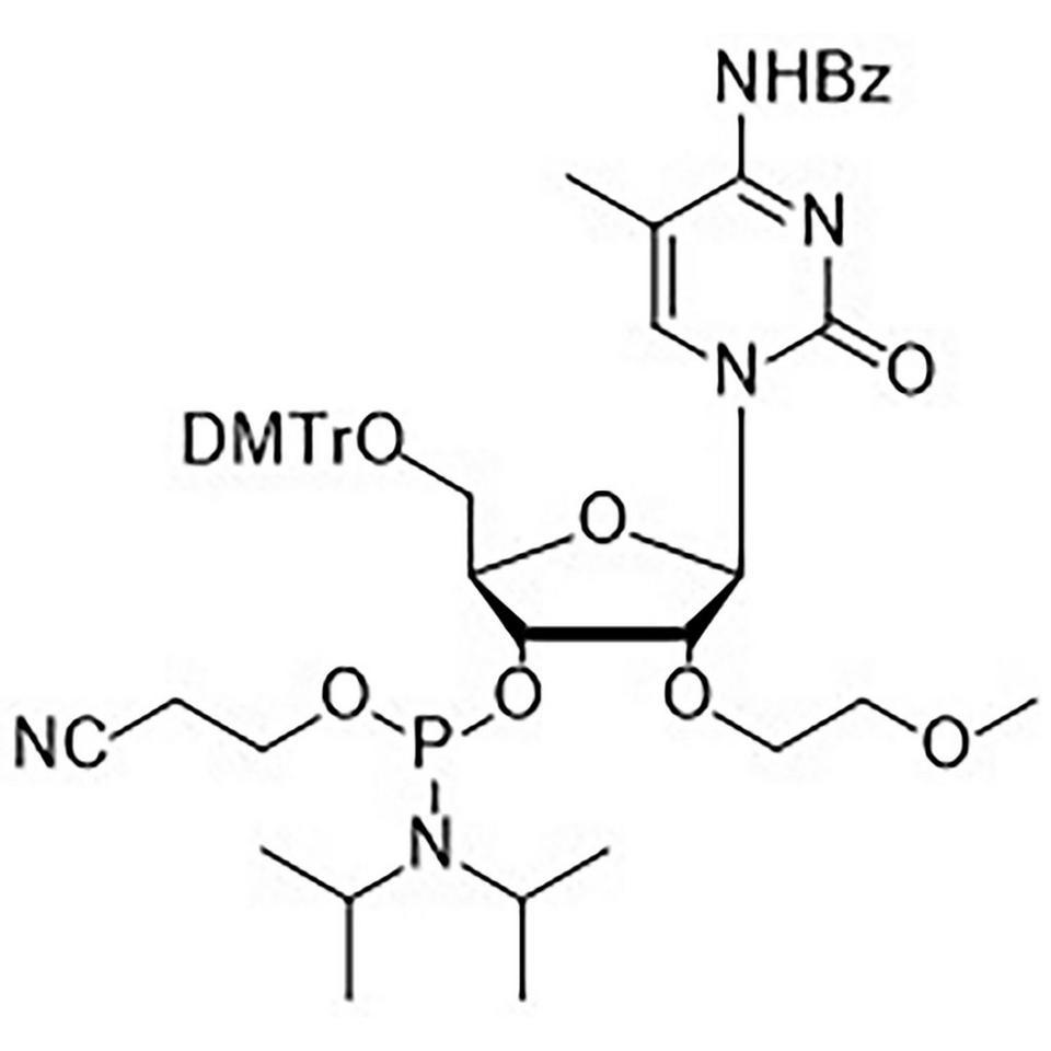 Bz-5-Methyl-C-CE, 2'-MOE Phosphoramidite