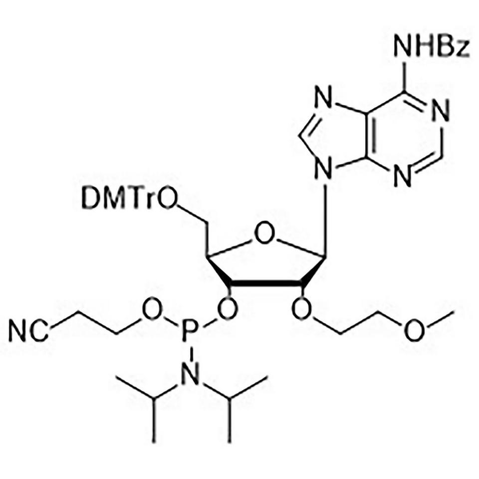 Bz-A-CE, 2'-MOE Phosphoramidite