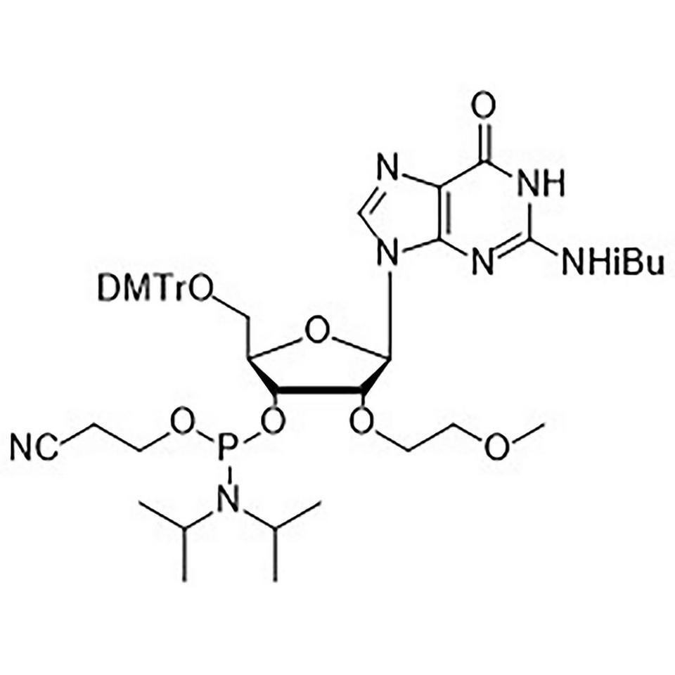 iBu-G-CE, 2'-MOE Phosphoramidite