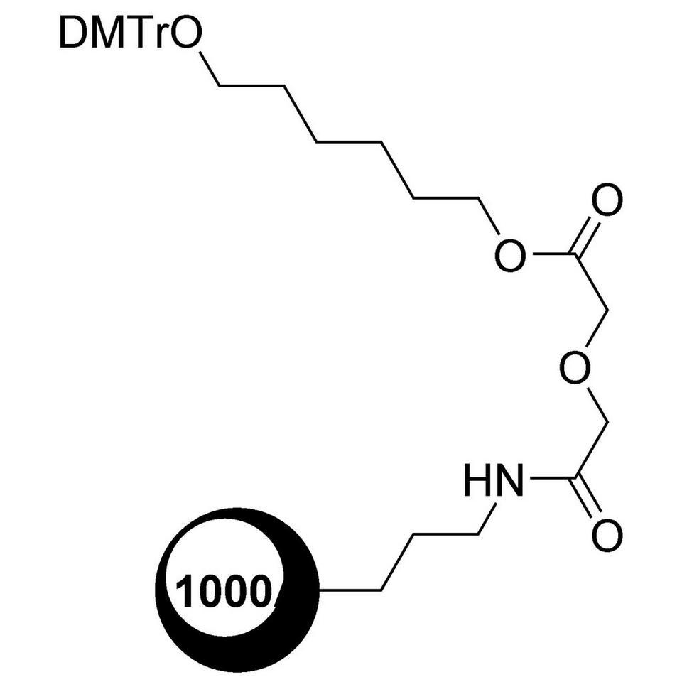 C6 CPG (DMT-1,6-Hexanediol-Glyc-CPG)