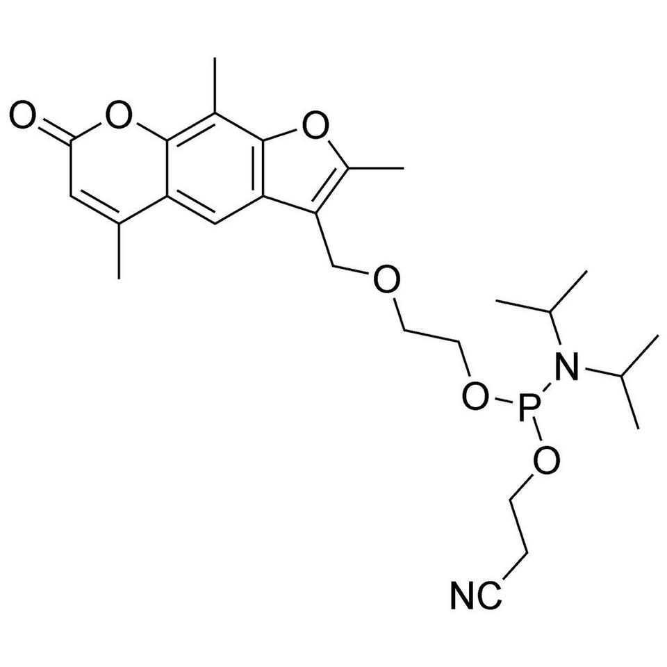Psoralen-C2 CE-Phosphoramidite, BULK (g), Glass Screw-Top