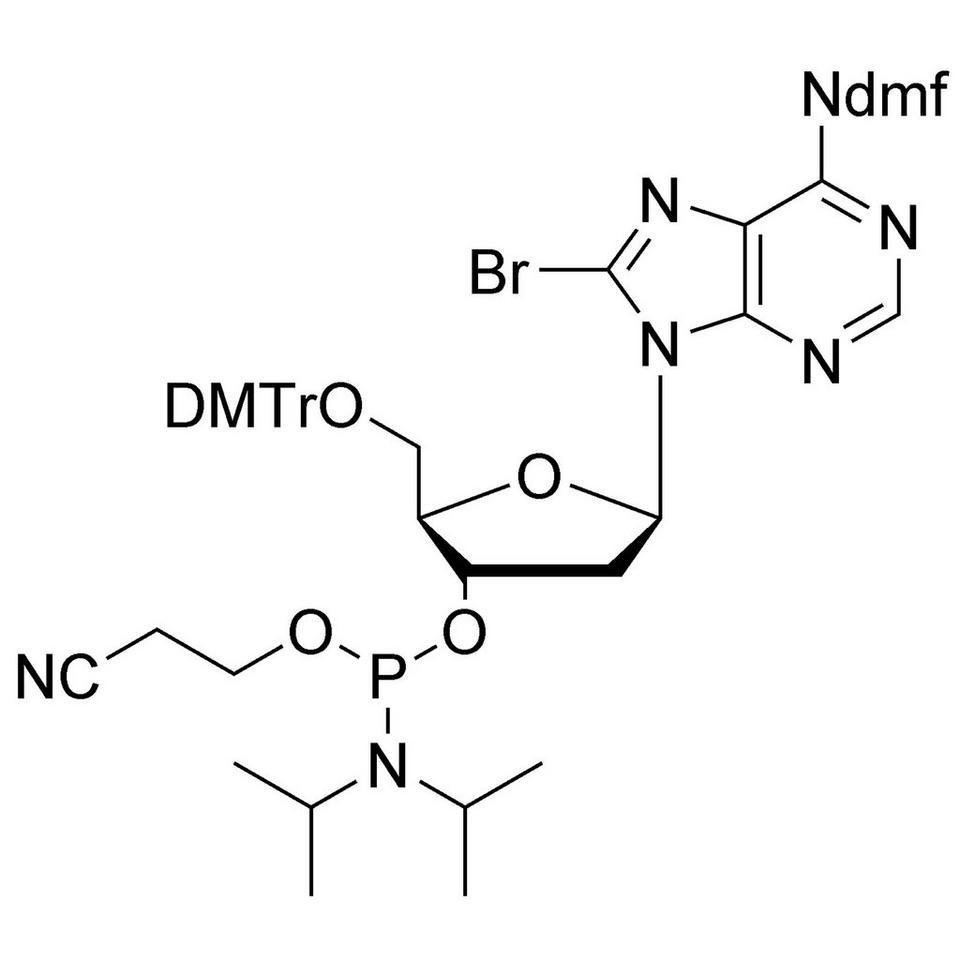 8-Br-dA (dmf) CE-Phosphoramidite