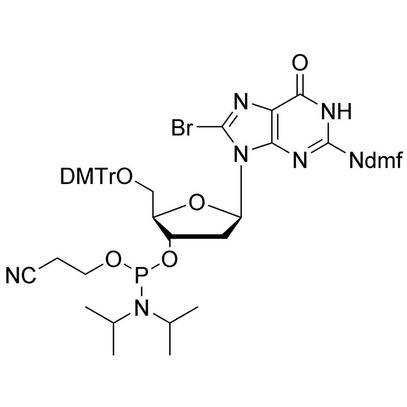 8-Br-dG (dmf) CE-Phosphoramidite