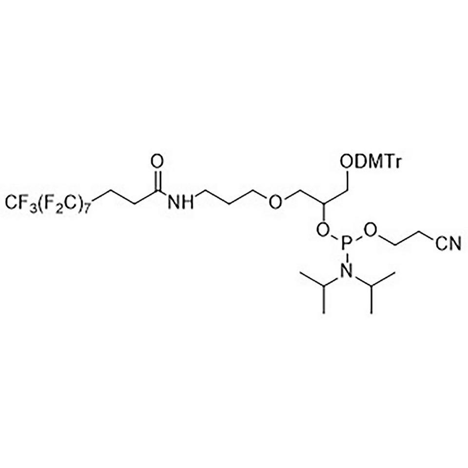 Fluorous Modifier CE-Phosphoramidite