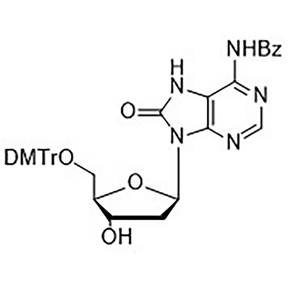 N6-Benzoyl-5'-O-(dimethoxytrityl)-8-oxo-2'-deoxyadenosine