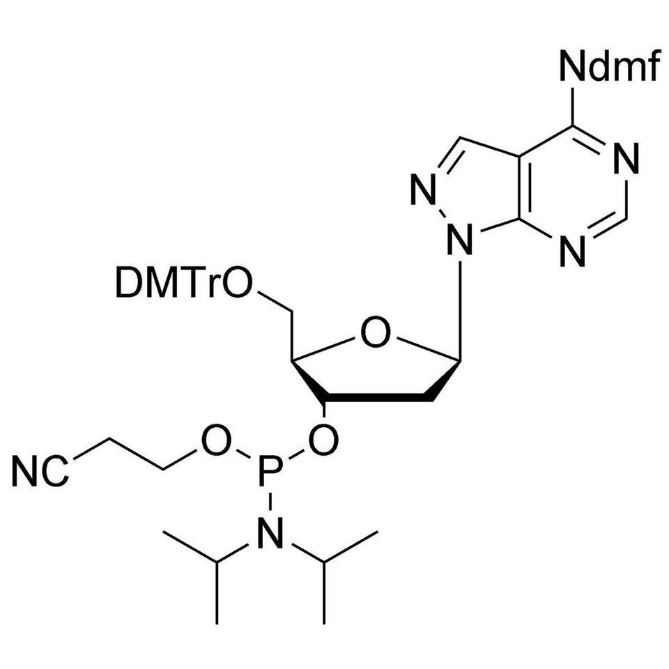 8-Aza-7-deaza-dA CE-Phosphoramidite, BULK (g), Glass Screw-Top