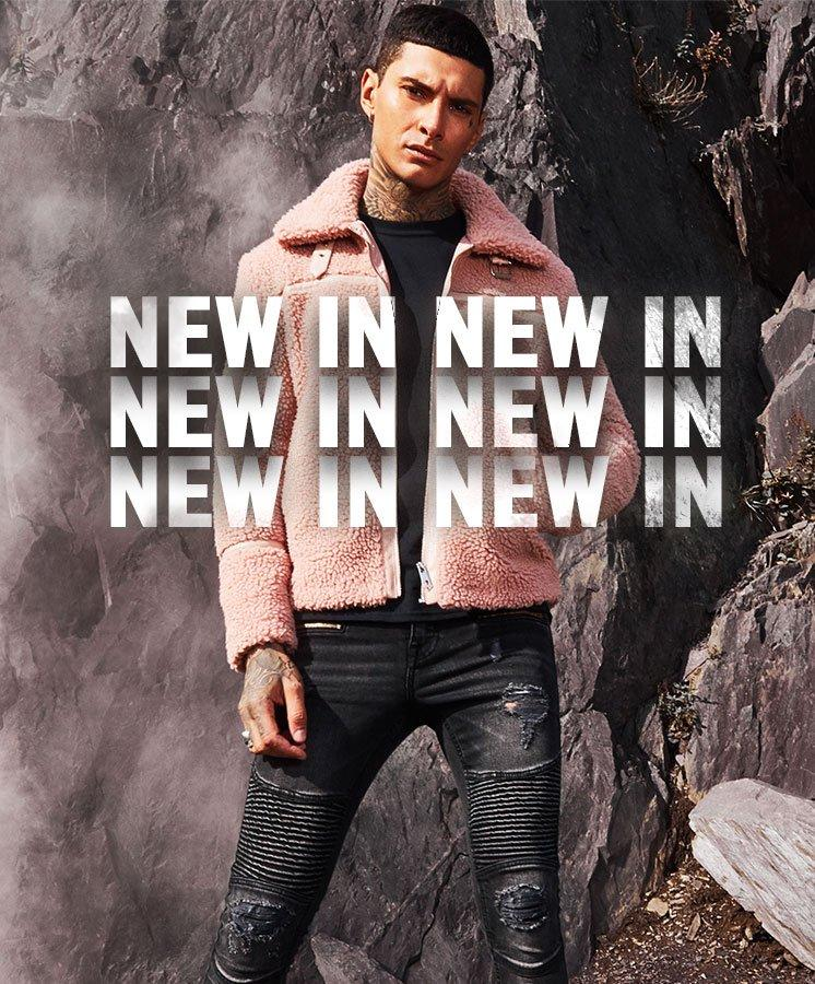 Shop Men's New in