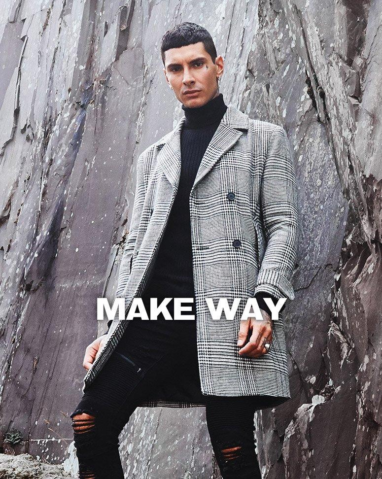 Shop men's Coats and Jackets