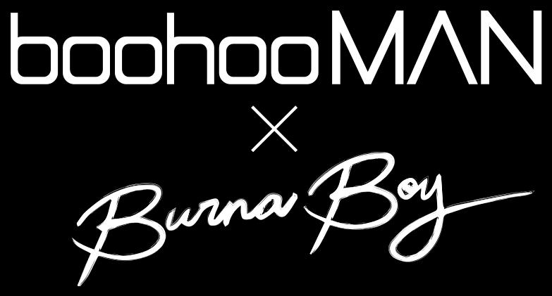 boohooMAN x Burnaboy