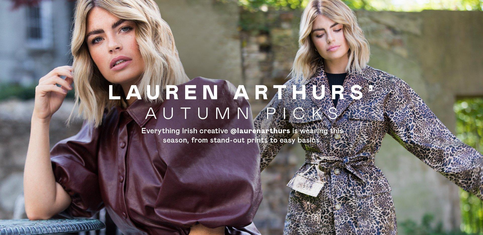 Lauren Arthurs' Picks