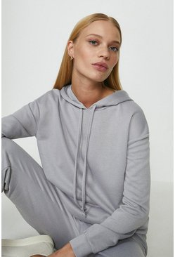 Grey Hoodie And Jogger Lounge Set