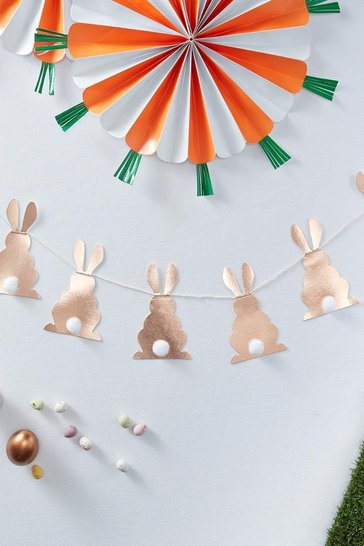 Rose gold Ginger Ray Easter Bunnies Bunting