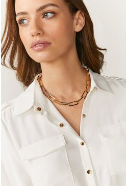 Gold  Single Delicate Chain Necklace