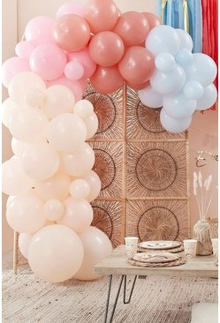 Multi Ginger Ray Balloon Arch Kit With 75 Balloons