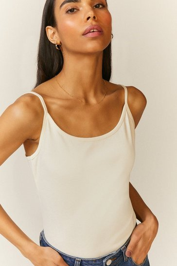 Ivory Cami Organic Cotton Top