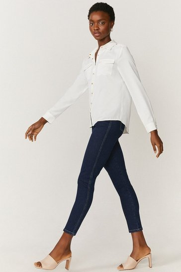 Indigo Organic Cotton Denim Jegging