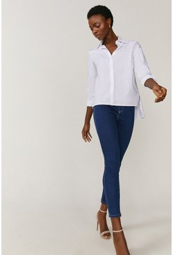 Mid blue Organic Cotton Denim Jegging