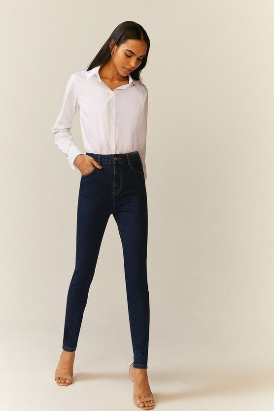 Indigo London Skinny High Waisted Shaper Jean