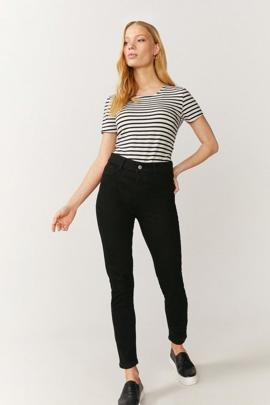 Black New York Power Stretch Jegging