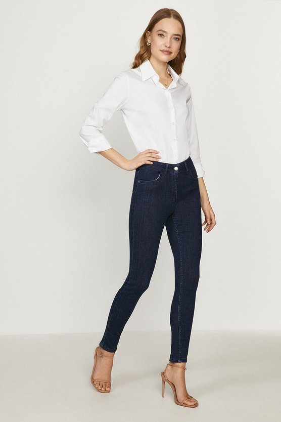 Indigo Paris Organic Cotton High Rise Skinny Jean