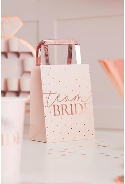 Blush Ginger Ray Team Bride Party Bags