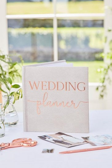 White Ginger Ray Wedding Planner