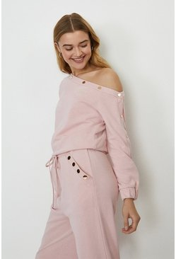 Pink Popper Bardot Top