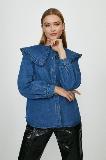 Blue Collar Denim Shirt