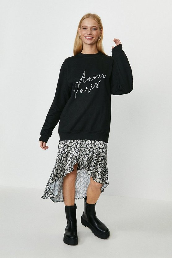 Black Amour Paris Sweatshirt