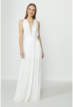 Ivory Multiway Bridal Maxi Dress