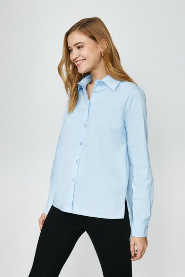 Pale blue Boyfriend Shirt
