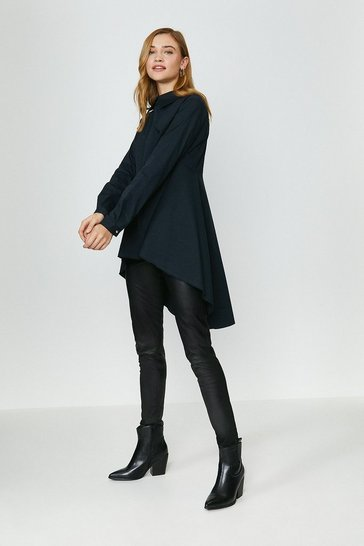 Black High Low Shirt